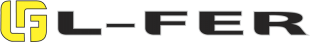 Logo L-FER Ferro Aço Telhas